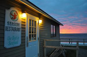 Seaside Restaurant Sunset